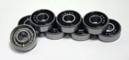 SWISS Skateboard Bearings Full Set of 8 Pcs Precision Quality