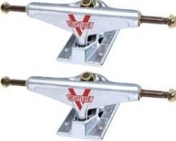 "Venture Polished Low Skateboard Trucks - 5.25"" Hanger 8"" Axle (Set of 2)"