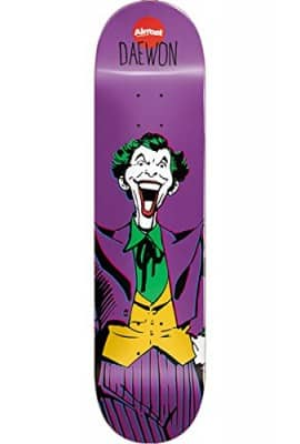 "Almost Joker R7 Skateboard Deck, Daewon, 8.25"" L x 31.7"" W x 14.25"" WB"
