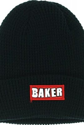 Baker Patch Adams Cuff Black Skate Beanie
