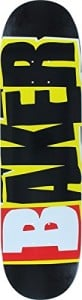 Baker Reset Logo Deck - 8.38 Black/Yellow