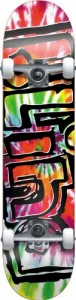 Blind Heady Tie Dye Complete Skateboard, Multi, Full 7.7