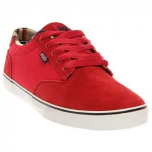 Dvs Daewon 12Er (Red Suede Almost) Mens Skate Shoes