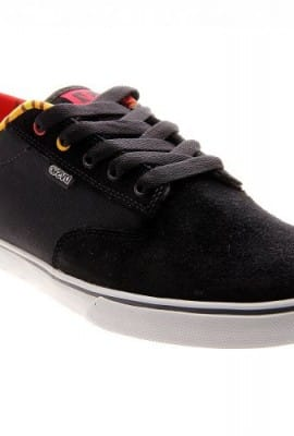 DVS Men's Daewon 12ER Almost Skate Shoe,Black,12 M US