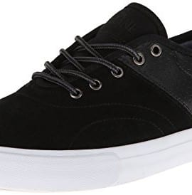 Dekline Men's Bixby Skate Shoe,Blake Black/White,12 M US