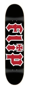 Flip Skateboards Team HKD Regular Skate Board, Black, 31.63 x 7.75""