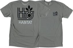 Habitat Pod Outline Short Sleeve M-Charcoal T-Shirt