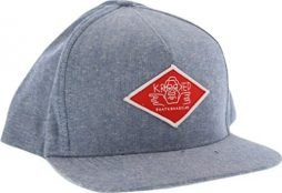Krooked Arketype Denim Chambray / Red Adjustable Hat