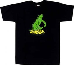 Krooked Gonzilla Black Large T-Shirt