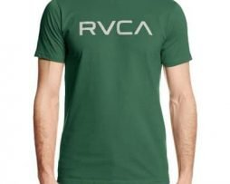 RVCA Men's Big Standard Fit T-Shirt, Foliage, Large