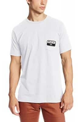 RVCA Men's Truck Patch, White, X-Small