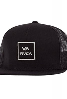RVCA Men's VA All The Way Truck Hat, Black, One Size
