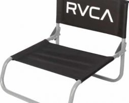 RVCA Unisex Lazyday Beach Chair Black One Size