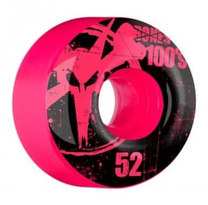 Bones Wheels 100's Assorted Colored Wheels