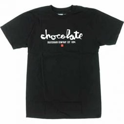 Chocolate Chunk Est Short Sleeve M-Black/White T-Shirt