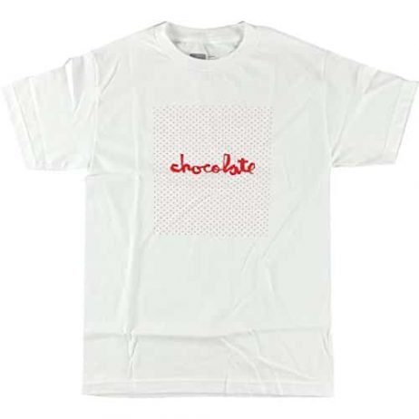Chocolate Floater Short Sleeve S-White/Red T-Shirt