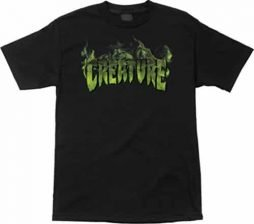 Creature Inferno Short Sleeve L-Black T-Shirt