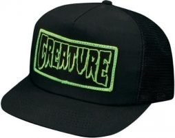 Creature Patch Trucker Hat Adjustable [Black]