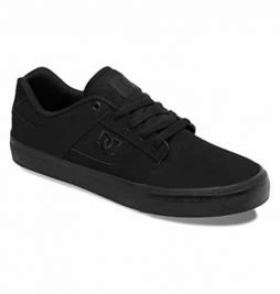 DC Men's Bridge Skate Shoe,Black/Black/Black,13 M US