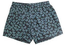 Diamond Supply Co. Men's Classic Fit Boxers Underwear Black Size S
