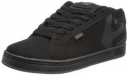 Etnies Mens Fader LS Shoes Footwear,Black Dirty Wash,14
