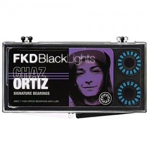FKD Chaz Ortiz Pro Blacklight Bearings ABEC 7