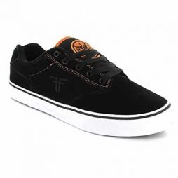 Fallen Men's Slash Skate Shoe,Black/Orange/Deathwish,11 M US
