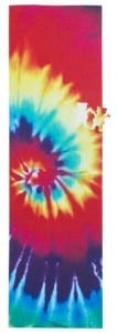 Grizzly Grip Tape All Over Tie Dye Bear Die Cut Out Skateboard Griptape