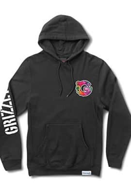 Grizzly-Tye-Dye-G-Black-Large-Hooded-Sweatshirt-0