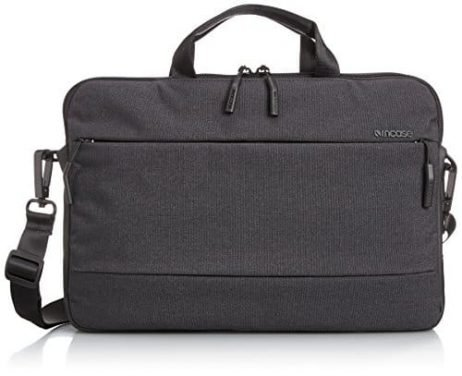 "Incase Men's CITY 13"" Briefcase, Black, One Size"