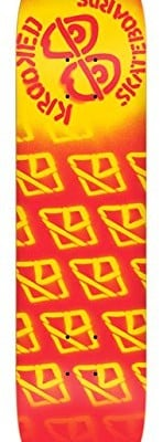 Krooked-Diffused-Lg-825-Red-Skateboard-Deck-0