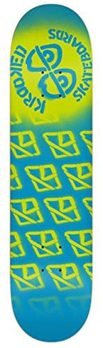 Krooked Diffused Md 8.06 Sky Blue Skateboard Deck