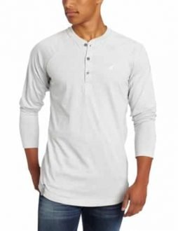 LRG Men's Core Collection Long Sleeve Raglan Henley Shirt