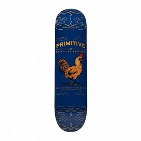 Primitive Rumble Skate Deck 8.0 Navy