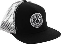 Sk8mafia Seal Black / White Adjustable Mesh Trucker Hat