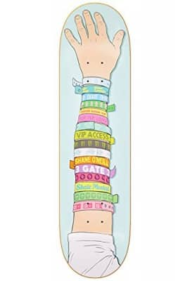 "Skate Mental Wristband 8.125"" x 32"" Skateboard Deck"