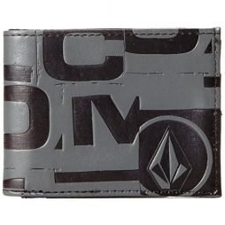 Volcom Men's Loco Wallet, Black, One Size
