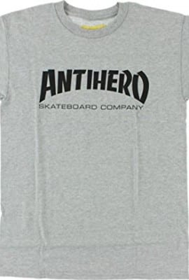 Anti Hero Skate Co Heather Grey / Black Large T-Shirt