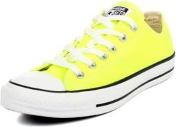 Converse Unisex Chuck Taylor All Star Low Top Electric Yellow Sneakers - 11 D(M) US