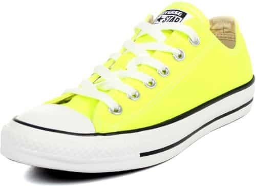 59b2943020c7 Converse Unisex Chuck Taylor All Star Low Top Electric Yellow Sneakers – 11  D(M) US