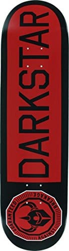 Darkstar Timeworks Red / Black Skateboard Deck – 8.25″ x 31.5″