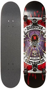 Darkstar Window Complete Deck, FUL7.75, Red/Purple