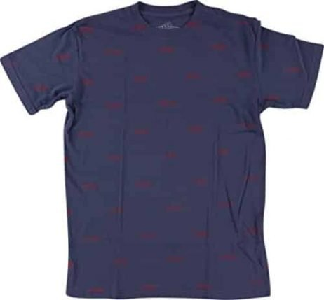 Baker Louie Short Sleeve L-Navy/Red T-Shirt