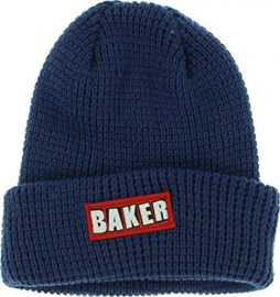 Baker Patch Adams Cuff Navy Beanie