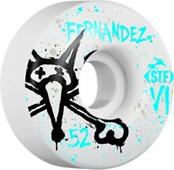 Bones Wheels Jesus Fernandez Street Tech Formula Vato OP Skateboard Wheels - 52mm 83b (Set of 4)