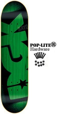 DGK Skateboard Deck STENCIL GREEN 8.06