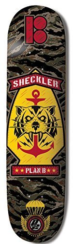 Plan B Sheckler Rip Shred Skateboard Deck 8.0