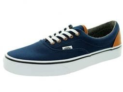 Vans Mens Dress Blue Era Canvas Trainers