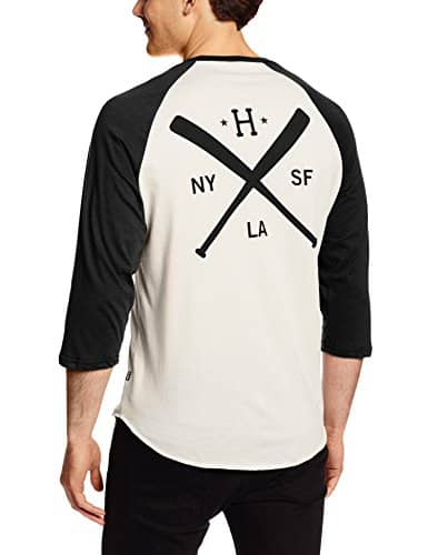 HUF Men's Strike Out Raglan T-Shirt
