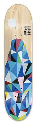 Blvd Skateboards AcidDrop 19 Skateboard Deck, 8-Inch